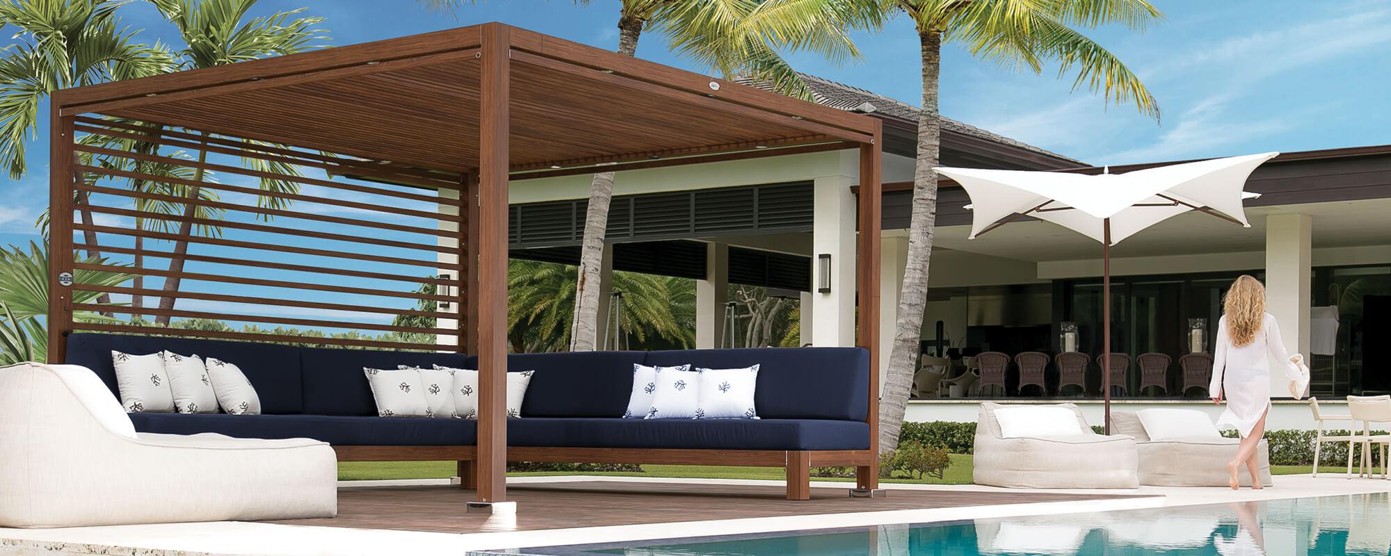 Outdoor Cabana tuuci equinox outdoor cabanas | tuuci