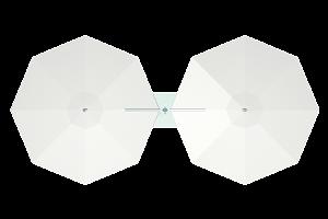 dual cantilever octagon