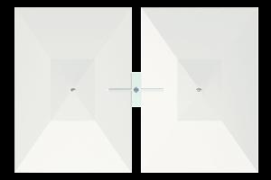 dual cantilever rectangle